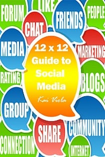 Book Cover: 12x12 by Kai Viola - 12 easy social media projects to complete
