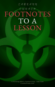 Book Cover: *Footnotes to a Lesson by Sabrann Curach